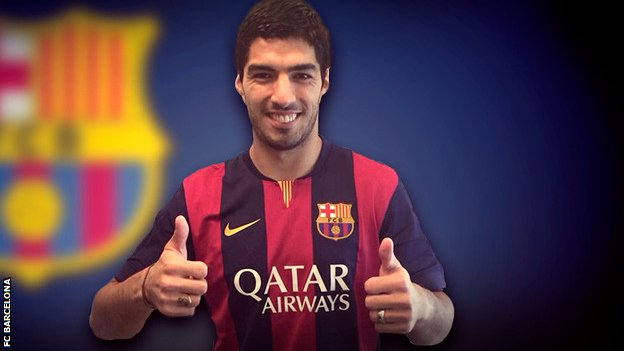 Luis Suarez Moves to Barcelona Leaves Liverpool in the Shit.