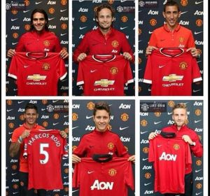 utd summer signings 2014