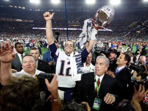 USP NFL: SUPER BOWL XLIX-NEW ENGLAND PATRIOTS VS S S FBN USA AZ