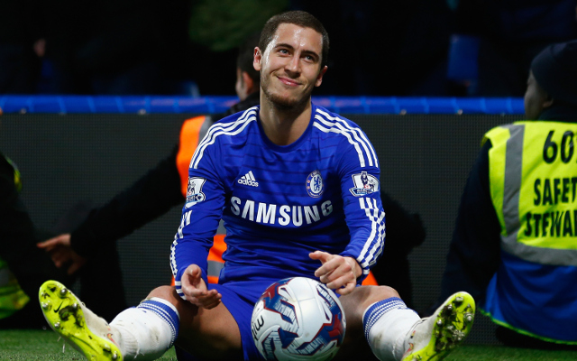 during the Capital One Cup Semi-Final second leg between Chelsea and Liverpool at Stamford Bridge on January 27, 2015 in London, England.