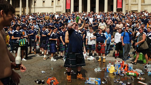 scotland invades london
