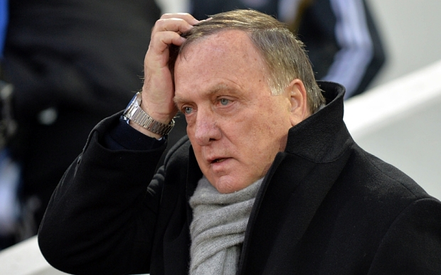 Sunderland's Dutch manager Dick Advocaat looks on ahead of the English Premier League football match between West Ham United and Sunderland at the Boleyn Ground in Upton Park, East London on March 21, 2015. AFP PHOTO / OLLY GREENWOOD  RESTRICTED TO EDITORIAL USE. NO USE WITH UNAUTHORIZED AUDIO, VIDEO, DATA, FIXTURE LISTS, CLUB/LEAGUE LOGOS OR LIVE SERVICES. ONLINE IN-MATCH USE LIMITED TO 45 IMAGES, NO VIDEO EMULATION. NO USE IN BETTING, GAMES OR SINGLE CLUB/LEAGUE/PLAYER PUBLICATIONS.OLLY GREENWOOD/AFP/Getty Images