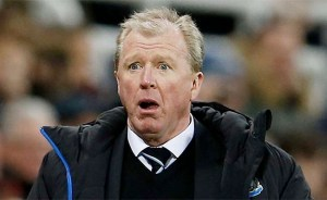 Steve McClaren Mouth Open Newcastle United