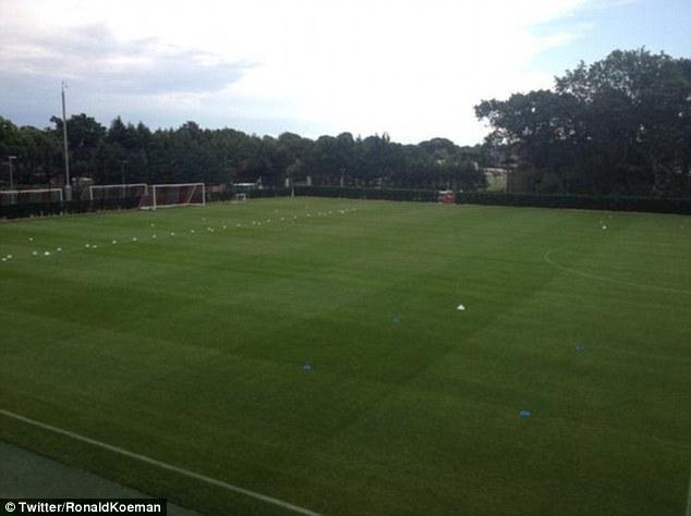 southampton training pitch